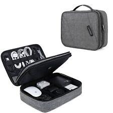 Apple iPad 9.7/Pro 10.5/Air/Air 2 Case Cable Organizer Portfolio Bag Elastic New