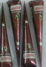 4 pc Kaveri Natural Herbal Henna Cones Body Art Mehandi +Free 2 Water Base Tatto