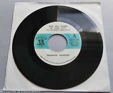 Durwood Haddock - How Are Things In Your City 1964 Eagle Records 7""