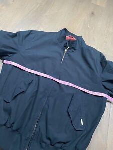 Baracuta G9 Harrington Men Jacket Navy Blue Size M