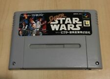 Super Famicom SUPER STAR WARS Nintendo Video Game - Japanese Version
