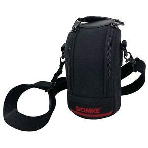 Domke F-505 Medium Black Camera Lens Pouch Carry Case Shoulder Belt Bag Zip