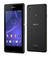 Sony Xperia E3 Black Schwarz D2203 LTE Ohne Simlock NEU (Originale Verpackung)
