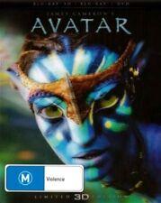 Avatar | 3D Blu-ray + Blu-ray + DVD - Blu Ray Region 4,B Free Shipping!