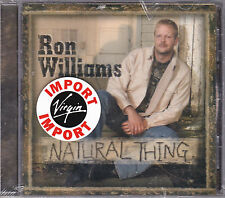 CD 12T RON WILLIAMS NATURAL THING 2004 NEUF SCELLE USA