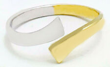 Two Tones 14K Solid Gold Adjustable Toe Ring * Nwt * Made in Usa