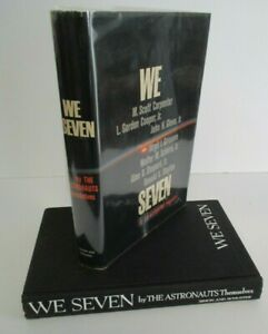 WE SEVEN by The Astronauts Themselves 1st Edition,1st Printing, 1962 in DJ