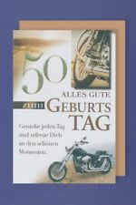 Geburtstag Glückwunschkarte 50 DigitalOase 50 Jubiläum Geburtstagskarten #092