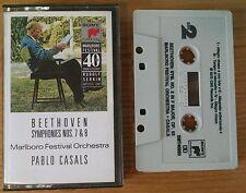 (I) Beethoven Symphonies No. 7 & 8 - Marlboro Festival - Music Cassette Tape