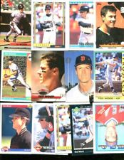 TED WOOD LOT OF 13 ALL DIFFERENT SAN FRANCISCO GIANTS MANSFIELD OHIO