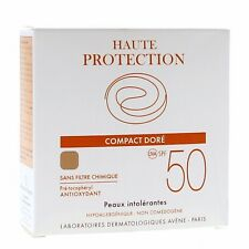10gr Avene compact High Haute Protection teinte tinted make up SPF50+ DORE