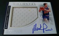 2016-17 National Treasures MARK PRICE Cavaliers Jersey On-Card Auto 7/60