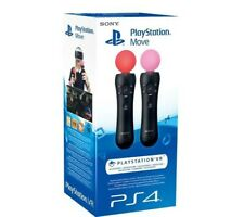 Sony PS4 Move Wireless Motion Controllers Twin Pack Playstation 4