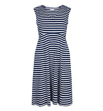 Gorgeous Mudd and Water Alice Dress - Size 10 / 12 - Navy / White Stripe - BNWT