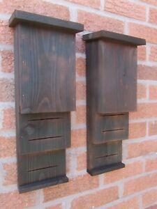 2 BAT BOXes TWIN CHAMBERS HIGH QUALITY BOX 4 Pipistrelle, Natterer's bat