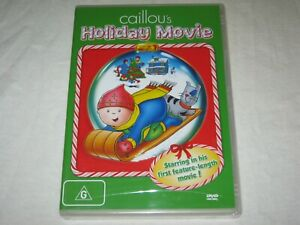 Caillou's Holiday Movie - Brand New & Sealed - Region 4 - DVD