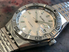 Vintage Bulova royal oak Gerald Genta case wristwatch design men's diver 70's