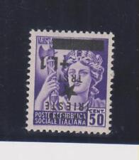 Yugoslavia,TRIESTE,ISTRA,, Italy1945  inverted ovpt MNH certificat PETRIC