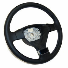 Pour VW Passat B6 05-10 noir perforé Cuir véritable Couverture volant