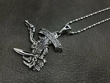 1% ER Outlaw Biker Pendant Fat Mexican Necklace for Harley  Bandido TP77