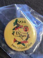 1994 US OPEN TENNIS PIN COCA-COLA BALL RETRO ART USA TOURNAMENT EVENT GRAND SLAM