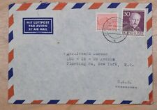 Mayfaristamps Berlin 1954 Max Planck Commercial Airmail to US Cover wwp10563