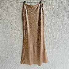 Long Blush Pink Sequin Skirt S Simply Gorgeous S Evening Party Cocktail