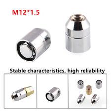 4+1Excellent STEEL WHEEL LOCKS Nut M12x1.5 CHROME LOCKING LUG NUTS Universal Kit