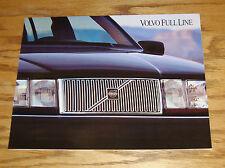 Original 1994 Volvo Full Line Sales Brochure 94 850 940 960