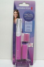 REMINGTON FACIAL HAIR PEN TRIMMER - PINK - NEW - FREE SHIP