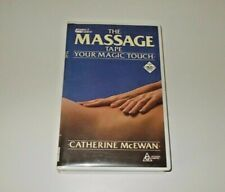 The Massage Tape VHS Pal Your Magic Touch Catherine McEwan Remedial Massage