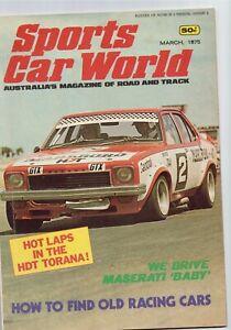 Sports Car World 1975 March