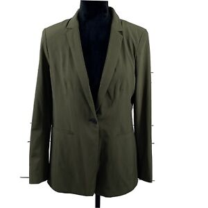 Banana Republic Women's Long and Lean Blazer Olive Size 10 NWT