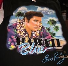 Elvis Blue Hawaii Mens Tshirt SS