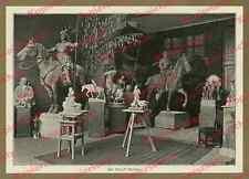 Bildhauer Rudolf Maison Atelier München Wotan Rabenthron Statue Historismus 1904