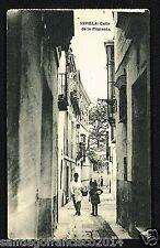 180.-SEVILLA -Calle de la Pimienta (Fototipia de Hauser y Menet)