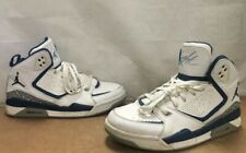 Nike Jordan SC-2 Flight USA 2011 454050-101 Sz 10 WHITE/FRENCH UNIVERSITY BLUE
