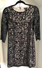 H&M Black Lace Dress Size XS