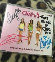 *HAND SIGNED* CLEA - Da Playaz Vs Clea - We Don't Have To Take Our - CD 2005 Ex+