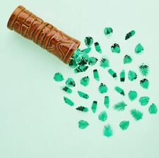 FABULOUS FOIL GREEN LEAF TABLE CONFETTI 14g HEN PARTY BABY SHOWER EMERALD