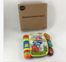 NEW Vtech Musical Nursery Rhymes & Discover Book Colors/Motor Skills/Instruments
