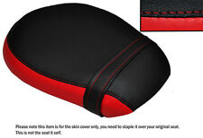 BLACK & B RED CUSTOM FITS TRIUMPH THUNDERBIRD 1600 LONGHAUL REAR SEAT COVER