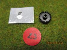 Pignon pour Jouef ou Artin couronne roue de champ 20 dents axe 2mm