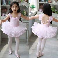 Ballet Tutu Princess Dress Up Dance Wear Costume Party Girls Toddler Kids Skirt