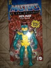 He-Man & The Masters of the Universe Origins Mer-Man Action Figure NEW MOC 2021