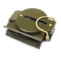 Mil-Spec Boussole militaire En vert fonce Professionnel X3Q3