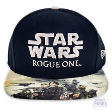 Disney Parks Rogue One Rebel Baseball Cap Star Wars Black Hat