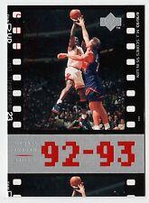 Michael Jordan 1998 Upper Deck Timeframe23 MJ Scores 55 in WIN Basketball card