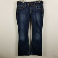 Silver Tuesday Boot Cut Womens Dark Wash Blue Jeans Size 30x31
