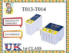 2 Compatibile T013 inchiostri per Epson Stylus C20 / C20UX / C20SX / C40 / 480/580 / 680